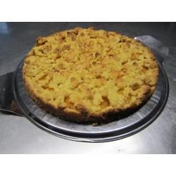 Veganer Aprikosen Streuselkuchen (Laktosefrei)