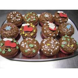 Nougat Muffins - 12 Stück - DreamCake