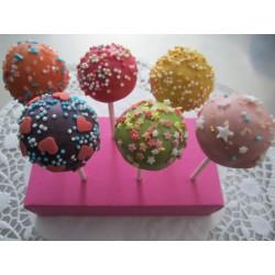 Bunte Cakepops - 12 Stück - DreamCake
