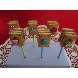 Kalter Hund CakePops - 12 Stück - DreamCake