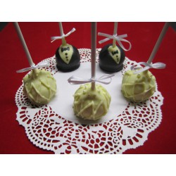 Hochzeits Cake Pops - DreamCake