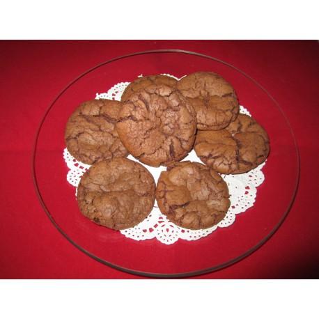 Schoko Cookies mit Karamellkern - 250 gramm