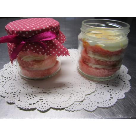 Ombre - Kuchen im Glas 6 Stück