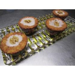 Bratapfel Muffins mit Walnüssen