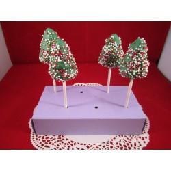 Tannenbaum Cake Pops