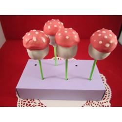 Pilz Cake Pops