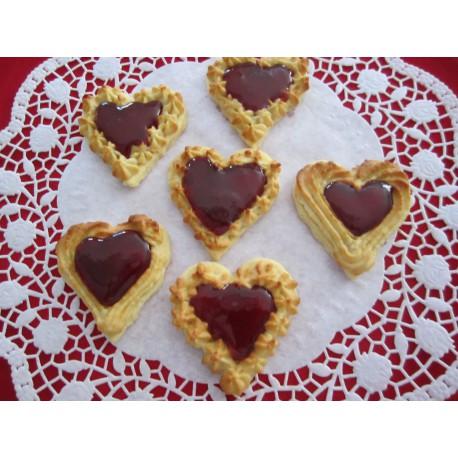 Makronen Herzen 20 Stück
