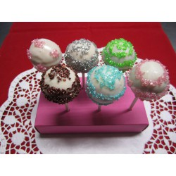 Kristall Cake Pops - 12 Stück - DreamCake