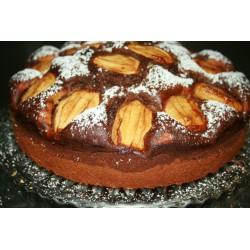 Saftiger Marmorkuchen mit Äpfeln ca. 28cm