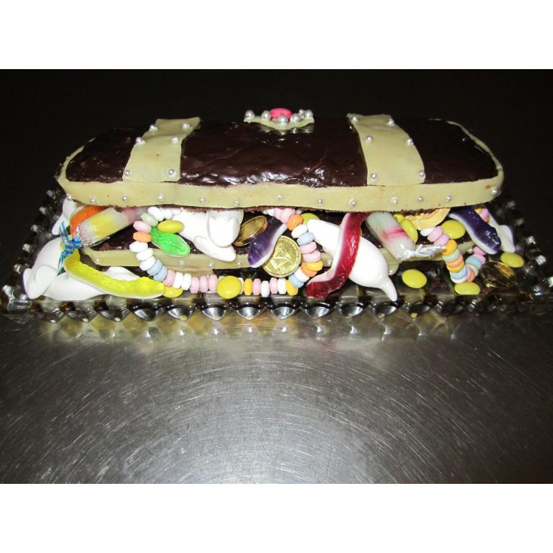 Piraten Schatztruhe Ca 25 X 10 Cm Dreamcake Dreamcake