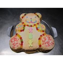 Geburtstagskuchen Teddy Set - ca. 30 x 30 cm - DreamCake
