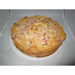 Veganer Rhabarberkuchen mit Guss - ca. 28 cm - DreamCake